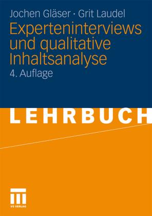 Experteninterviews und qualitative Inhaltsanalyse