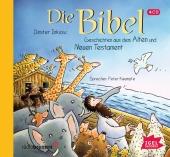 Die Bibel, Geschichten aus dem Alten und Neuen Testament, 4 Audio-CDs Cover