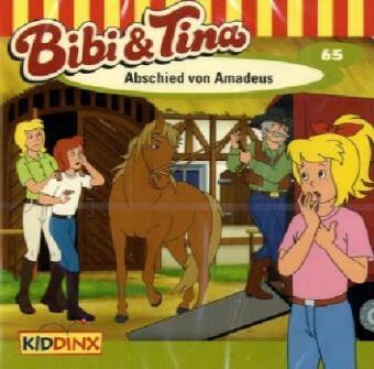 Bibi & Tina, Abschied von Amadeus, Audio-CD