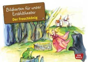 Bildkarten für unser Erzähltheater: Der Froschkönig