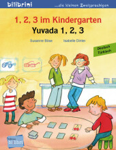 1, 2, 3 im Kindergarten, Deutsch-Türkisch;Yuvada 1. 2, 3 Cover