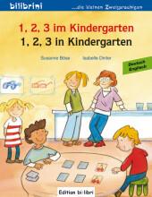 1, 2, 3 im Kindergarten, Deutsch-Englisch;1, 2, 3 in Kindergarten Cover