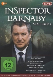 Inspector Barnaby, 4 DVDs Cover