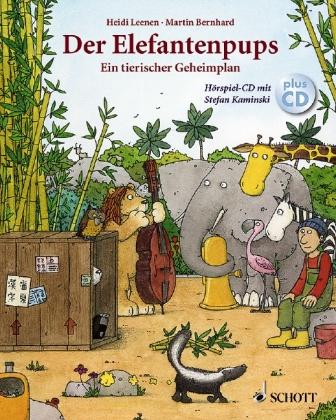 Der Elefantenpups, Ein tierischer Geheimplan, m. Audio-CD