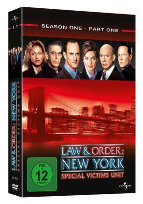Law & Order: New York, 3 DVDs