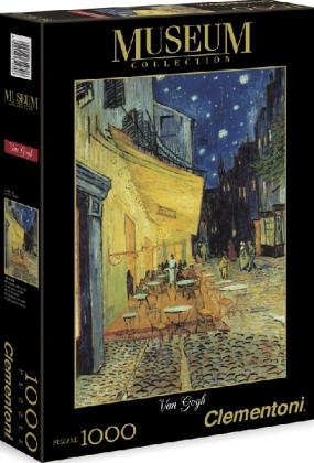 Caféterrasse bei Nacht (Puzzle)