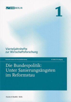 Die Bundespolitik: Unter Sanierungsängsten im Reformstau.