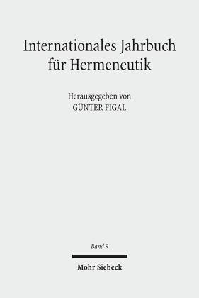 2010 - Schwerpunkte: Hermeneutik und Phänomenologie/Schöne Kunst