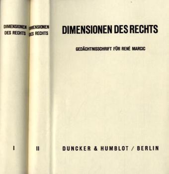 Dimensionen des Rechts.