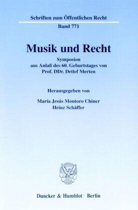 Musik und Recht.