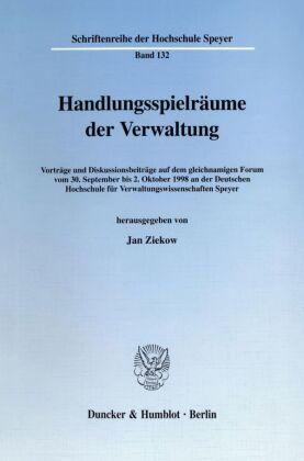 Handlungsspielräume der Verwaltung.