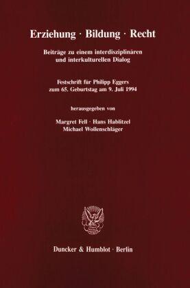 Erziehung - Bildung - Recht.