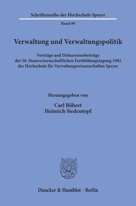 Verwaltung und Verwaltungspolitik.