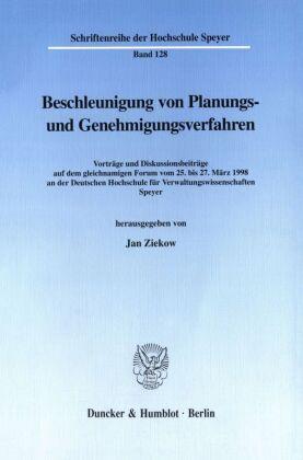 Beschleunigung von Planungs- und Genehmigungsverfahren.