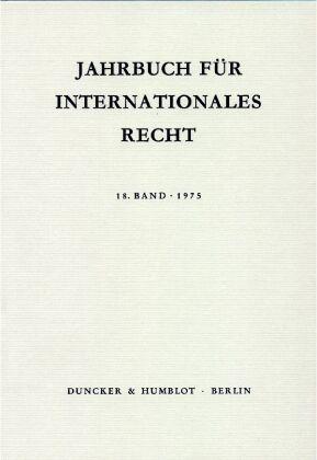 Jahrbuch für Internationales Recht.