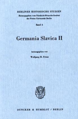 Germania Slavica II.
