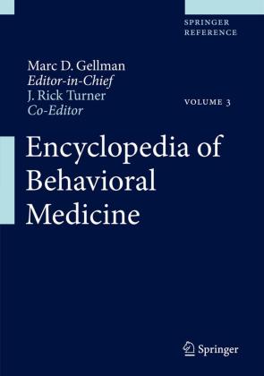 Encyclopedia of Behavioral Medicine, 4 Teile
