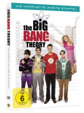 The Big Bang Theory, 4 DVDs Cover