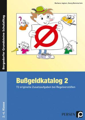 Bußgeldkatalog 2, 2.-4. Klasse