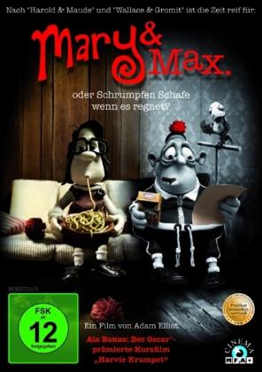 Mary & Max - oder schrumpfen Schafe wenn es regnet?, 1 DVD