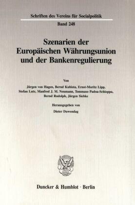 Szenarien der Europäischen Währungsunion und der Bankenregulierung.