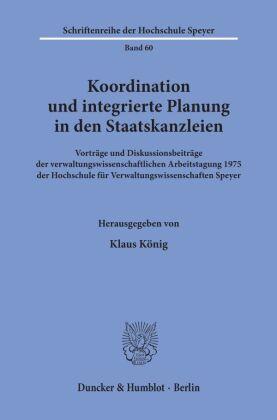 Koordination und integrierte Planung in den Staatskanzleien.