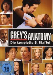 Grey's Anatomy, Die jungen Ärzte, 7 DVDs Cover