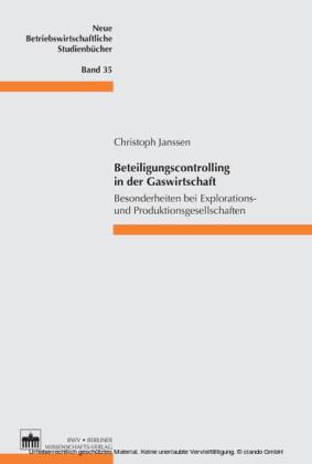 Beteiligungscontrolling in der Gaswirtschaft