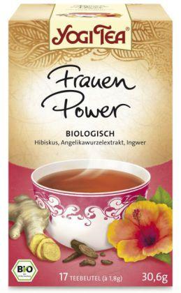Yogi Tee Frauen Power , Tee-Aufgussbeutel