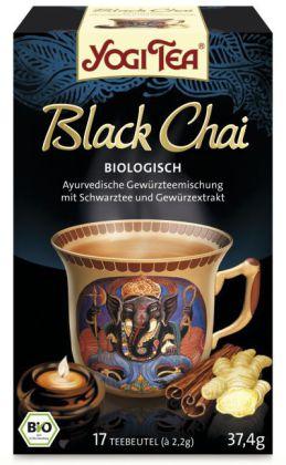 Yogi Tee Black Chai, Tee-Aufgussbeutel