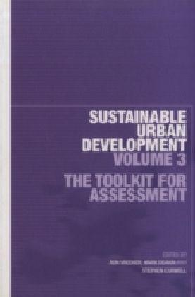 Sustainable Urban Development Volume 3