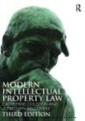 Modern Intellectual Property Law 3/e