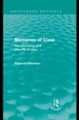 Memories of Class (Routledge Revivals)