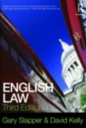English Law 3/e