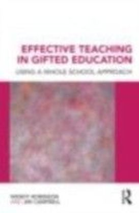 Effective Teaching in Gifted Education