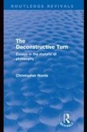 Deconstructive Turn (Routledge Revivals)