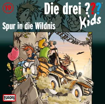Die drei ???-Kids - Spur in die Wildnis, 1 Audio-CD