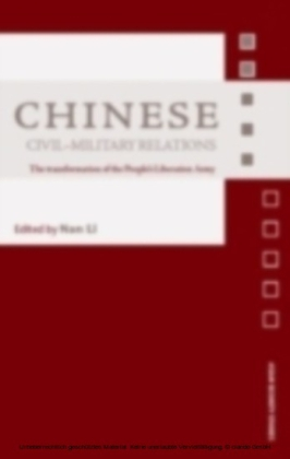 Chinese Civil-Military Relations