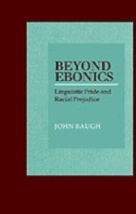 Beyond Ebonics
