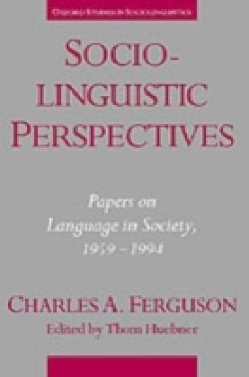 Sociolinguistic Perspectives