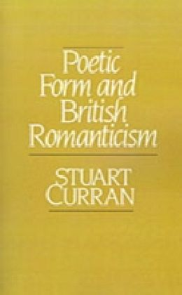 Poetic Form and British Romanticism