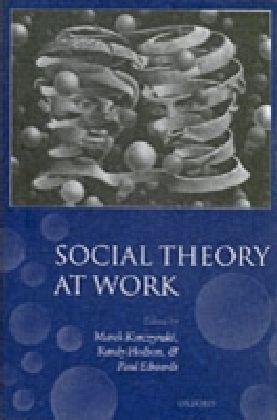 Social Theory At Work