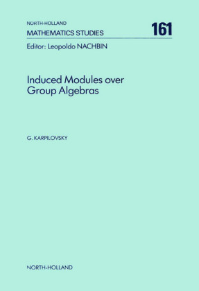 Induced Modules over Group Algebras
