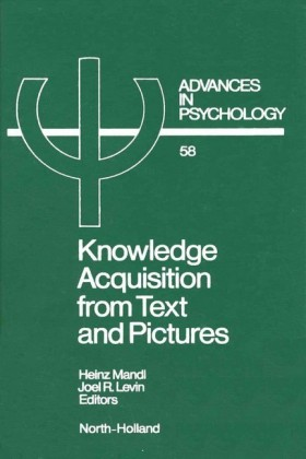 Knowledge Acquisition from Text and Pictures. Vol.58