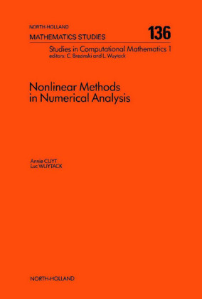 Nonlinear Methods in Numerical Analysis