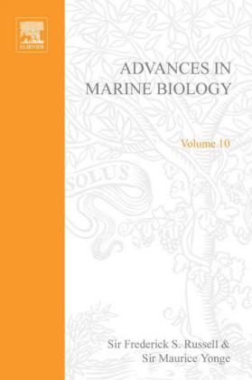 ADVANCES IN MARINE BIOLOGY VOL. 10 APL