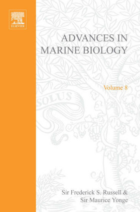 ADVANCES IN MARINE BIOLOGY VOL. 8 APL. Vol.8