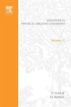 ADV PHYSICAL ORGANIC CHEMISTRY V11 APL