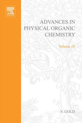 ADV PHYSICAL ORGANIC CHEMISTRY V10 APL