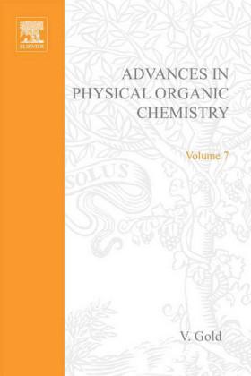 ADV PHYSICAL ORGANIC CHEMISTRY V7 APL